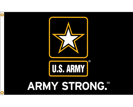 U.S. Army Strong Flag - Logo Army Strong PNG