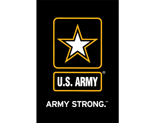 U.S. Army Strong Garden Flag - Logo Army Strong PNG