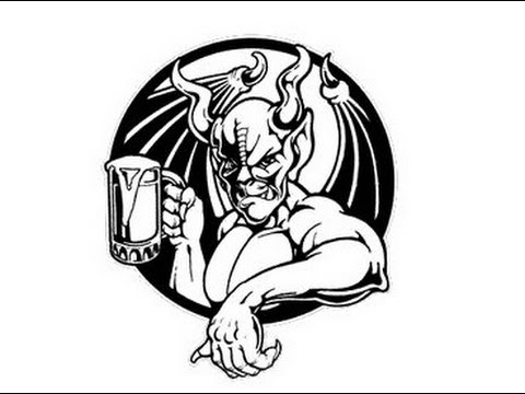 Image result for arrogant bastard ale logo