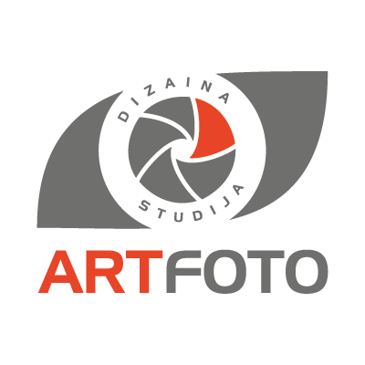Artfoto vector logo . - Logo Artfoto PNG