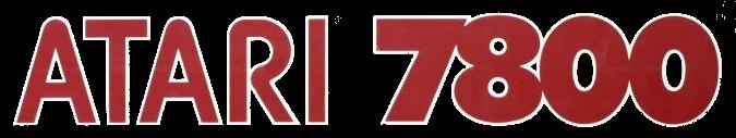 Atari 7800 Logo.png - Logo Atari PNG