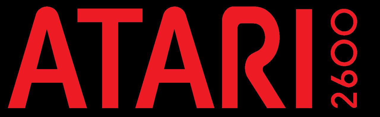 File:Atari 2600 logo.svg - Logo Atari PNG