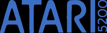 File:Atari 5200.png - Logo Atari PNG