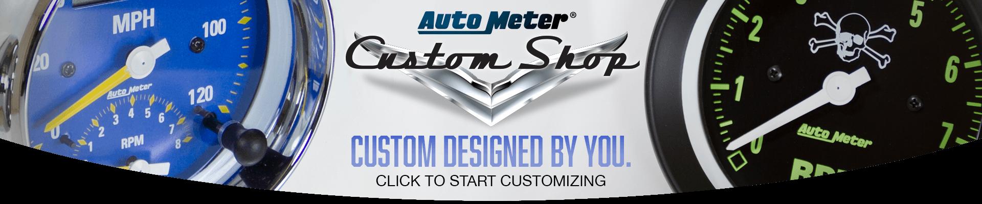 Auto Meter Custom Gauges - Logo Auto Meter PNG