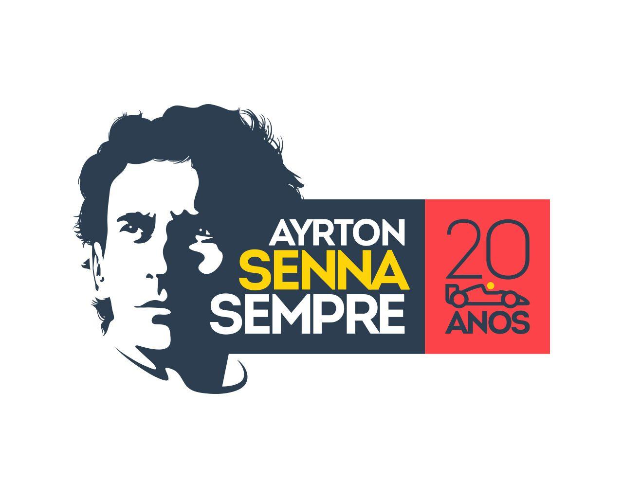 . PlusPng.com ayrton senna logo PlusPng.com  - Logo Ayrton Senna S PNG