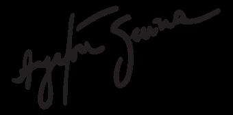 Ayrton Sennas Signatur - Logo Ayrton Senna S PNG