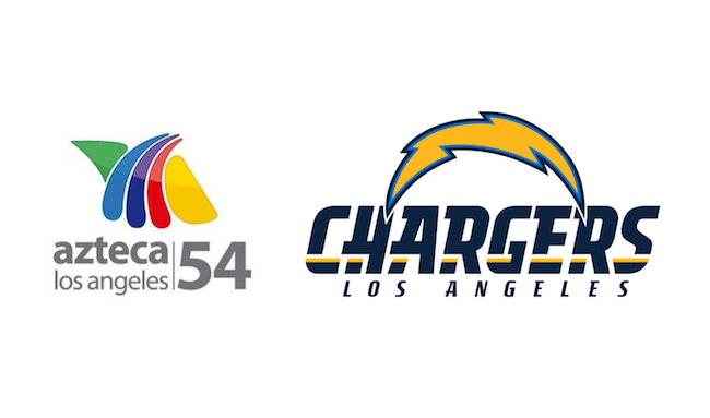 Azteca América strikes new multi-year deal with LA Chargers - Logo Azteca America PNG