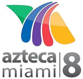 File:Azteca miami 8 logo.png - Logo Azteca America PNG