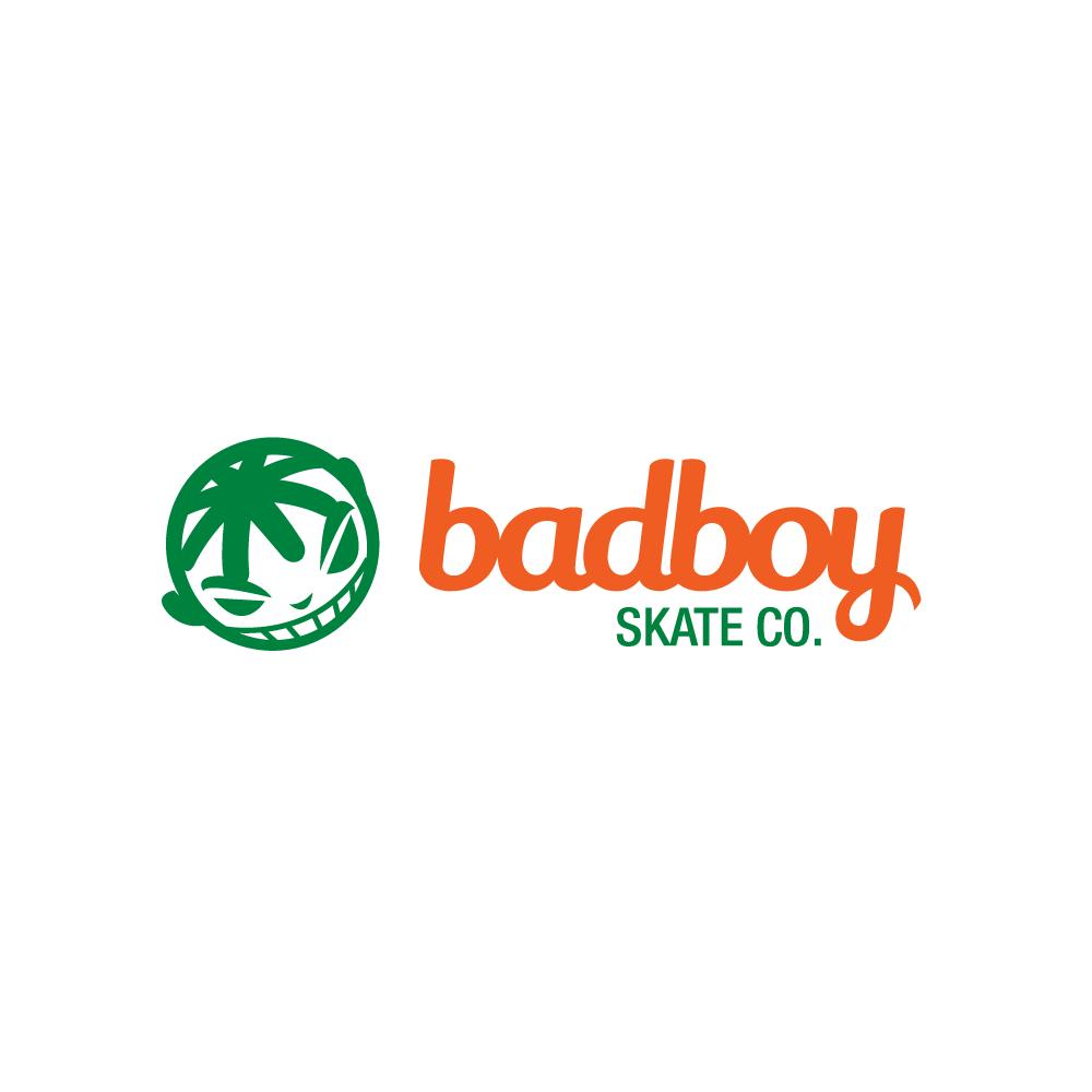 Homeu003eDesigned by Gregory Grigoriouu003eBadboy Skate Co.u2014Youth Skateboard Logo  Design - Logo Bad Design PNG