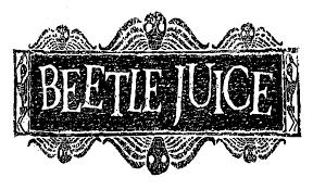 Logo Beetlejuice PNG - 36919