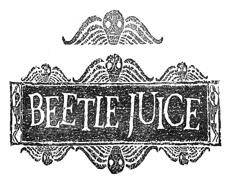 Logo Beetlejuice PNG - 36912
