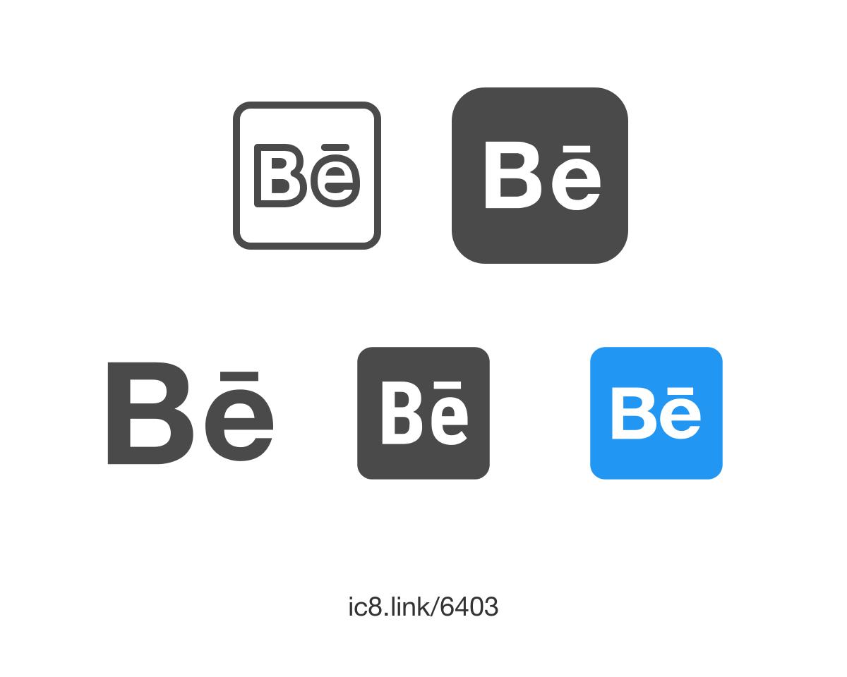 Logo Behance PNG - 114104