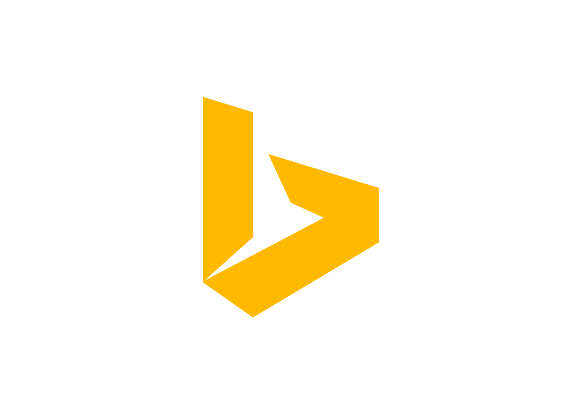 Filename: Bing-logo.png - Logo Bing PNG