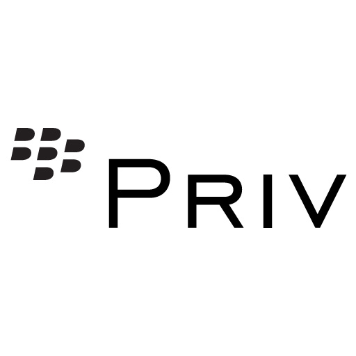Logo Blackberry Priv PNG