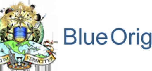 Logo Blue Origin PNG - 38902
