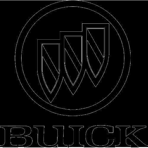 Logo Buick Black PNG-PlusPNG.com-500 - Logo Buick Black PNG