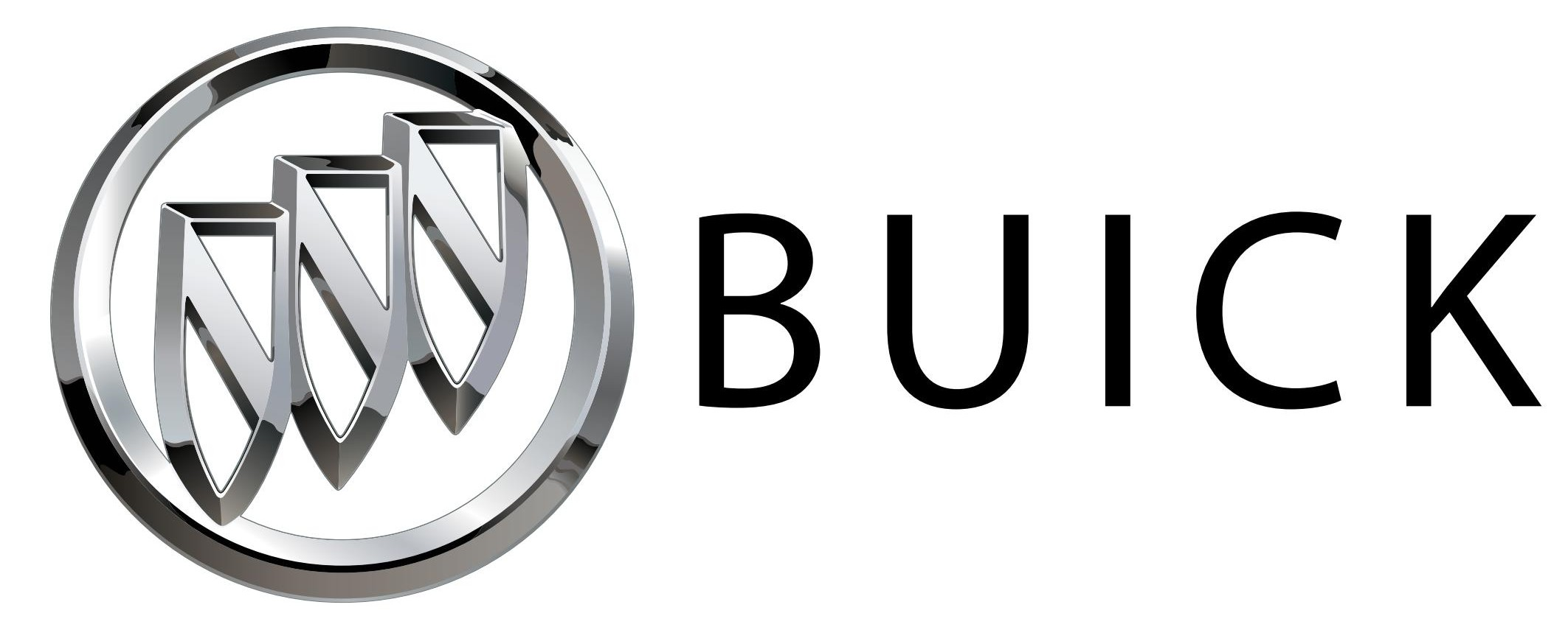 Buick is a premium brand of General Motors (GM). - Logo Buick Black PNG