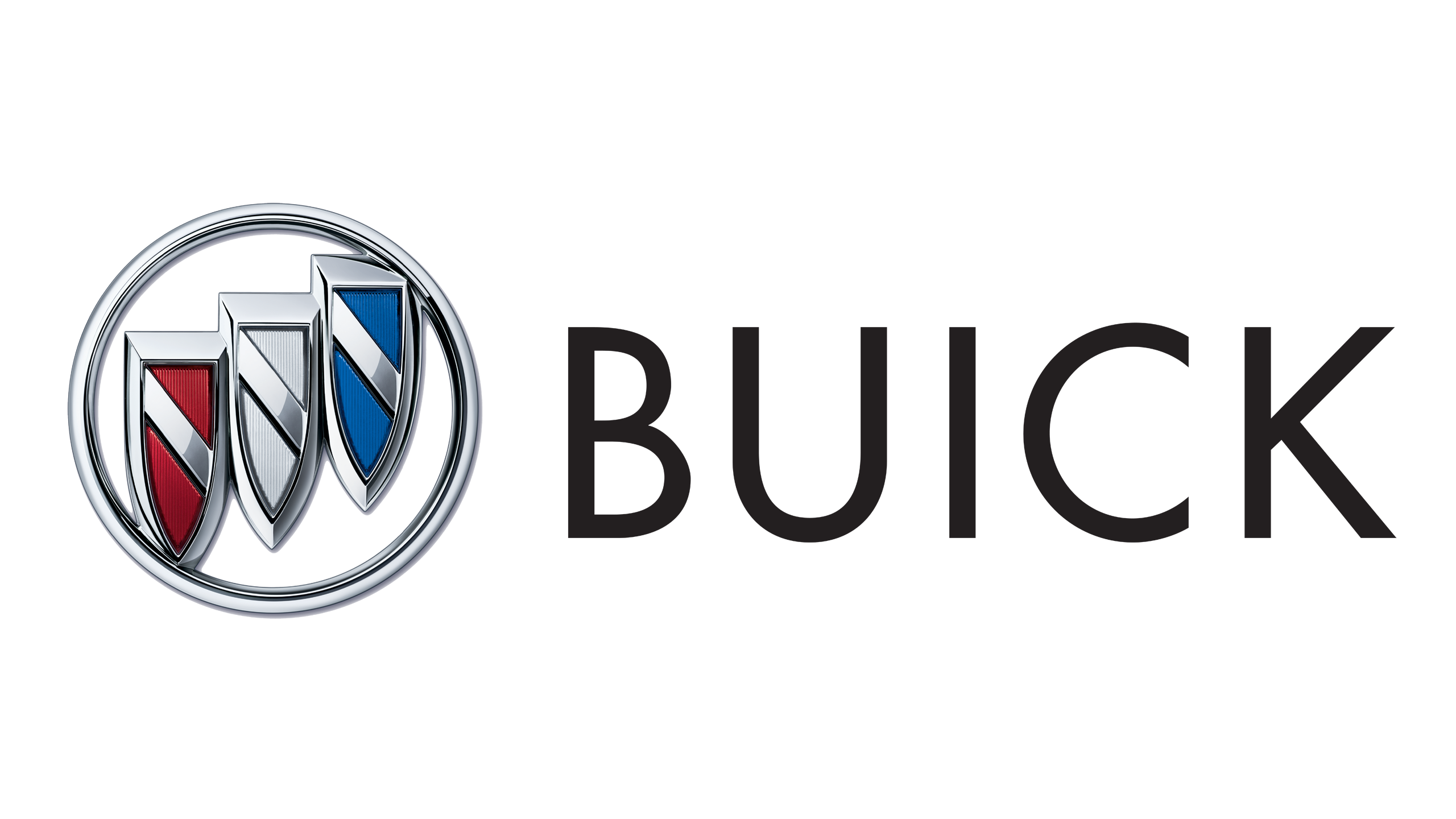 Buick Logo (2002u2013Present) 2560x1440 HD png - Logo Buick Black PNG