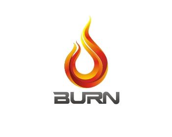 3rd - Logo Burn PNG