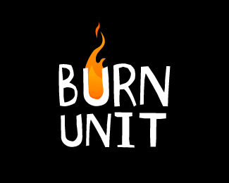 Burn Unit - Logo Burn PNG