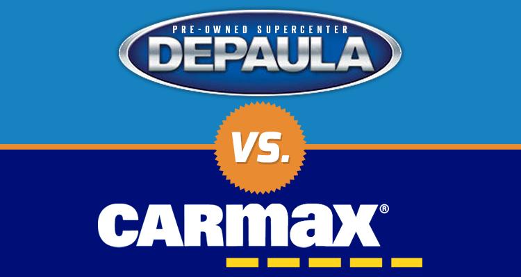 DePaula Chevrolet Albany, NY - Logo Carmax PNG