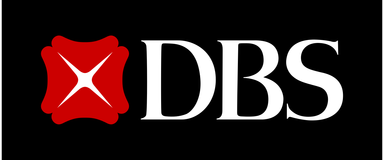 DBS Bank logo, logotype