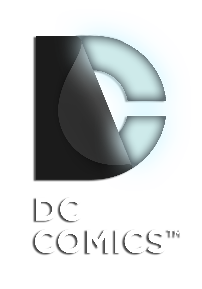 Black Lantern DC logo.png - Logo Dc Comics PNG