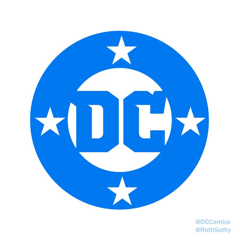 DC Comics Logo 2016 (Roth Sothy u0027Bulletu0027 Remix) by RothSothy PlusPng.com  - Logo Dc Comics PNG