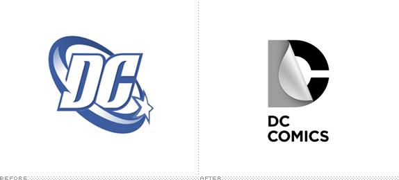 DC Comics Logo, Before and After - Logo Dc Comics PNG