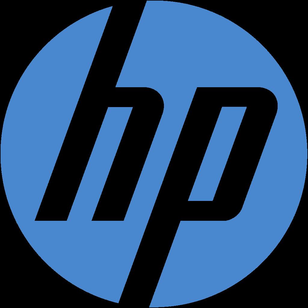 File:HP New Logo 2D.svg - Logo Hp Inc PNG