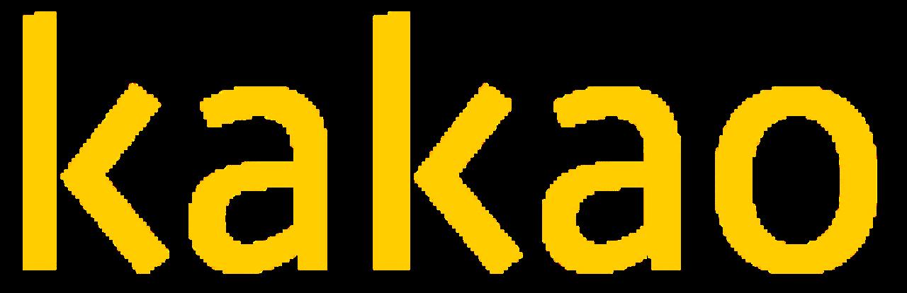 File:Kakao CI yellow.svg - Logo Kakao PNG