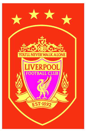 File:Liverpool FC Logo (four Gold Stars).png - Logo Liverpool Fc PNG