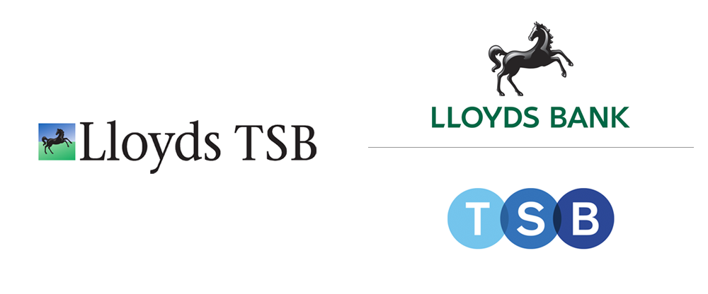 New Logos for TSB and Lloyds Bank by Rufus Leonard - Logo Lloyds Banking PNG