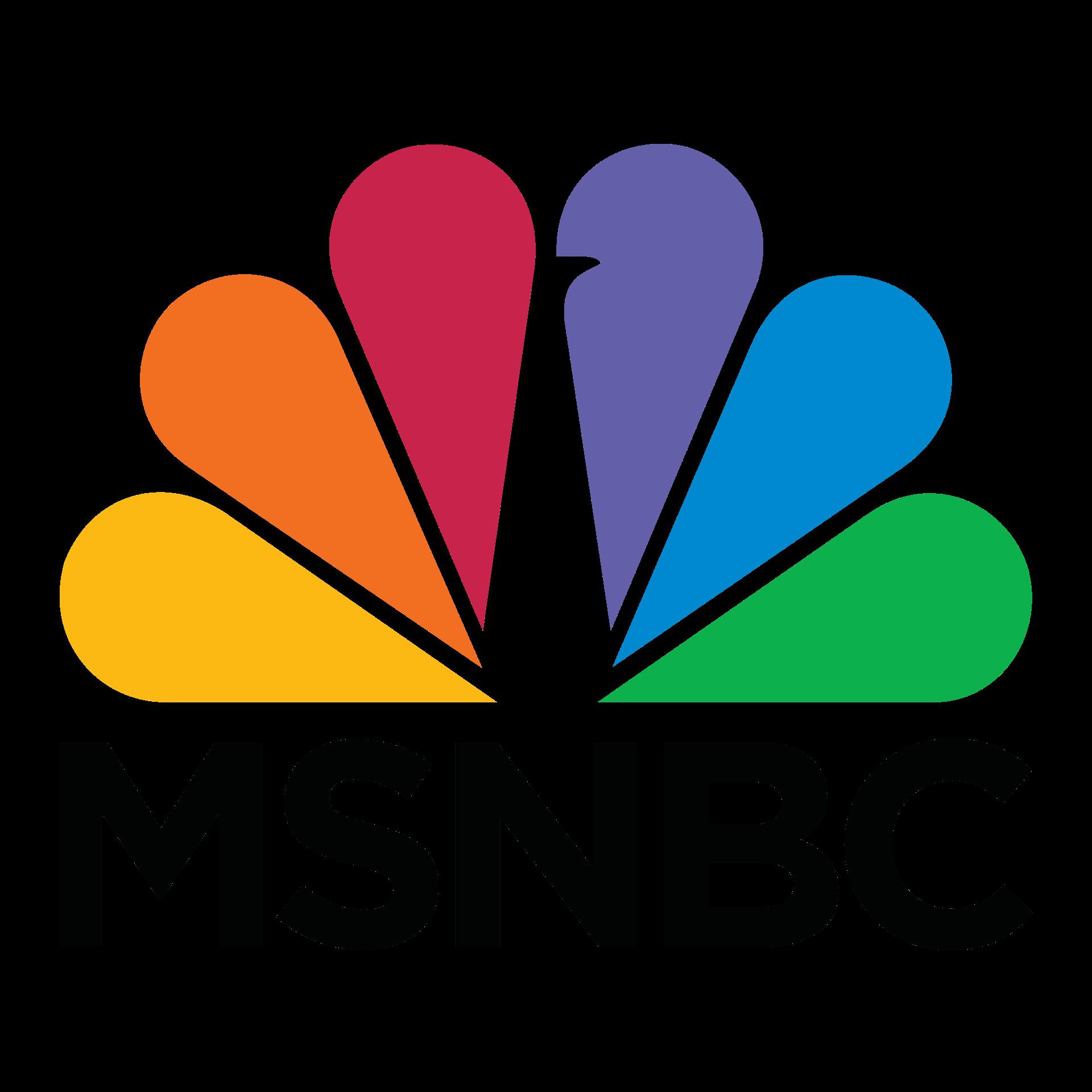 logo msnbc png transparent logo msnbcpng images pluspng
