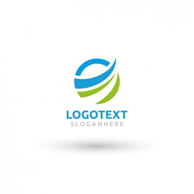 Circular Wave Logo Template - Logo Template PNG