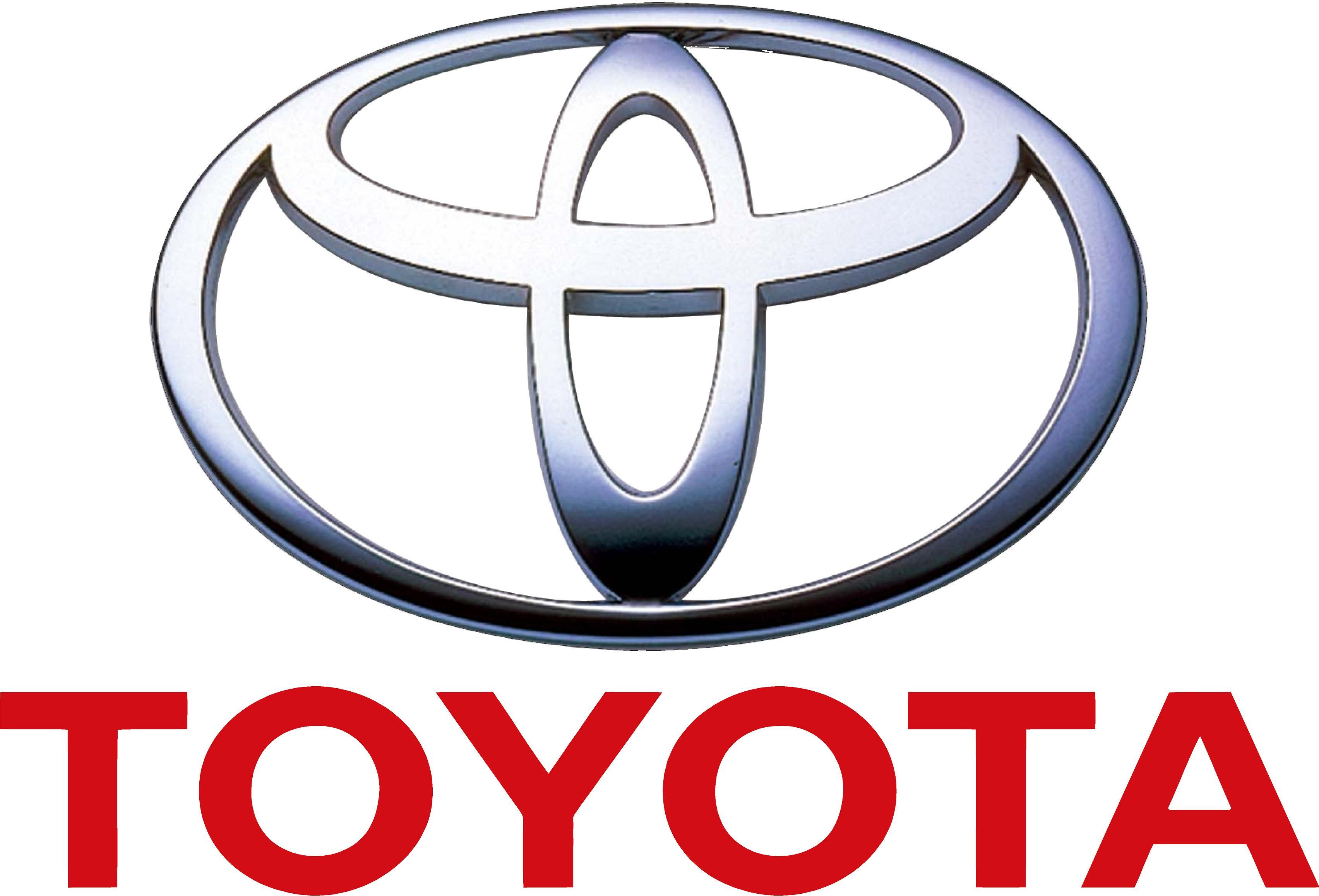 Logo Toyota Flat PNG - 28537