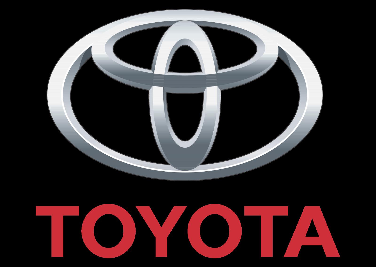 Logo Toyota Flat PNG - 28526