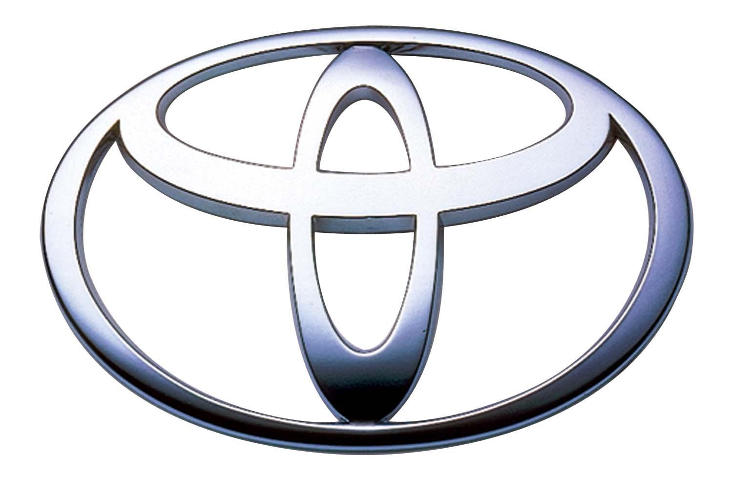 Logo Toyota Flat PNG - 28535