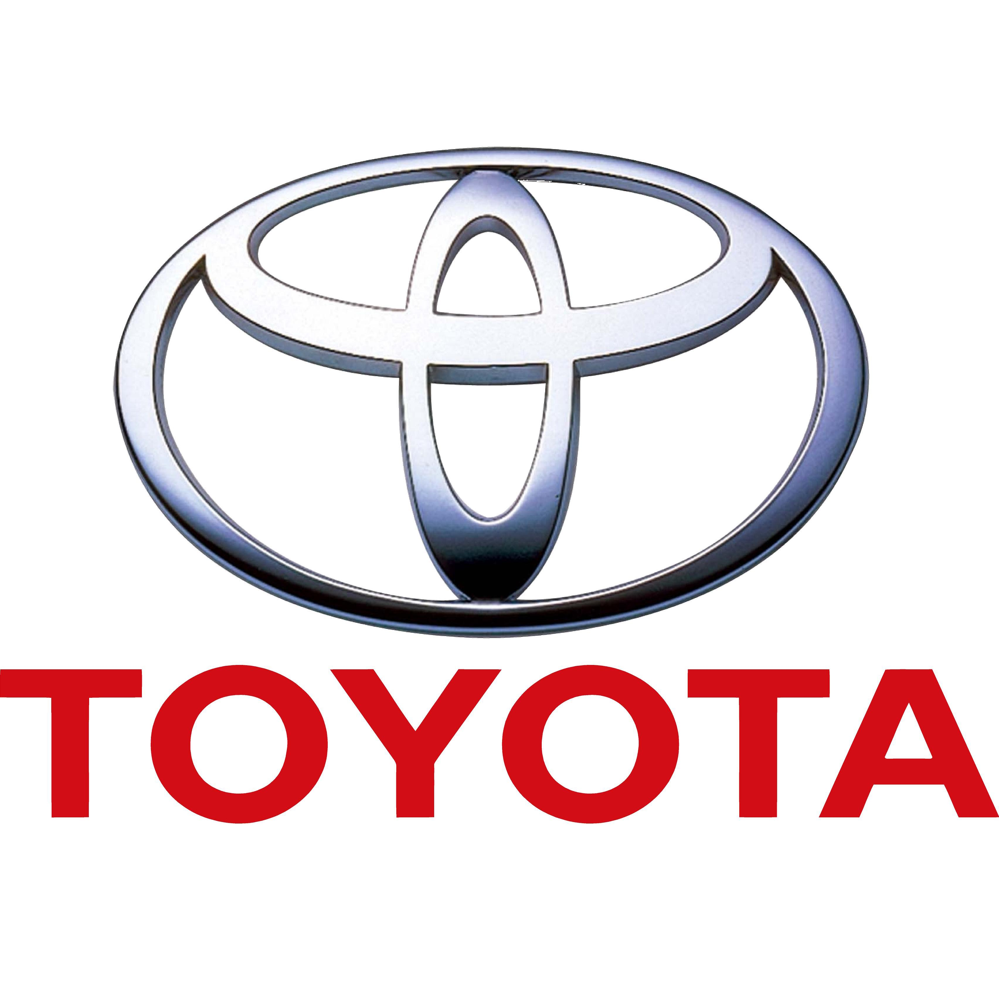 Logo Toyota Flat PNG - 28533