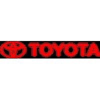 Logo Toyota Flat PNG - 28536
