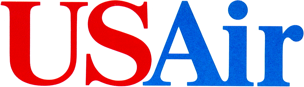 USAir logo 1989.png - Logo Us Airways PNG