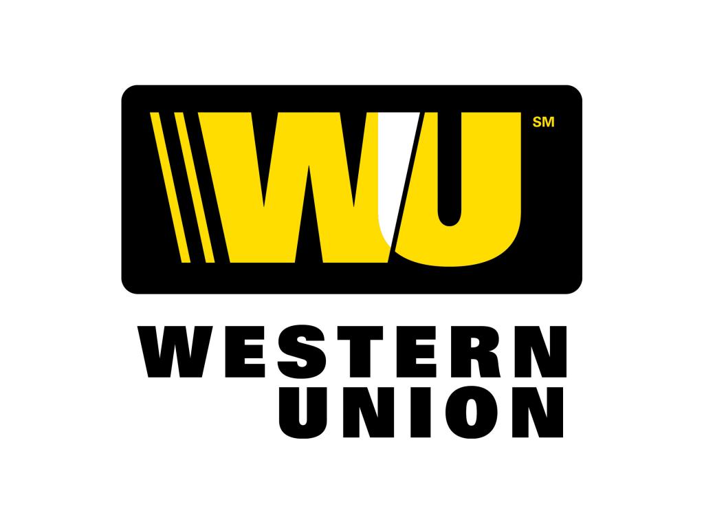 Western Union logo WU - Logo Western Union PNG