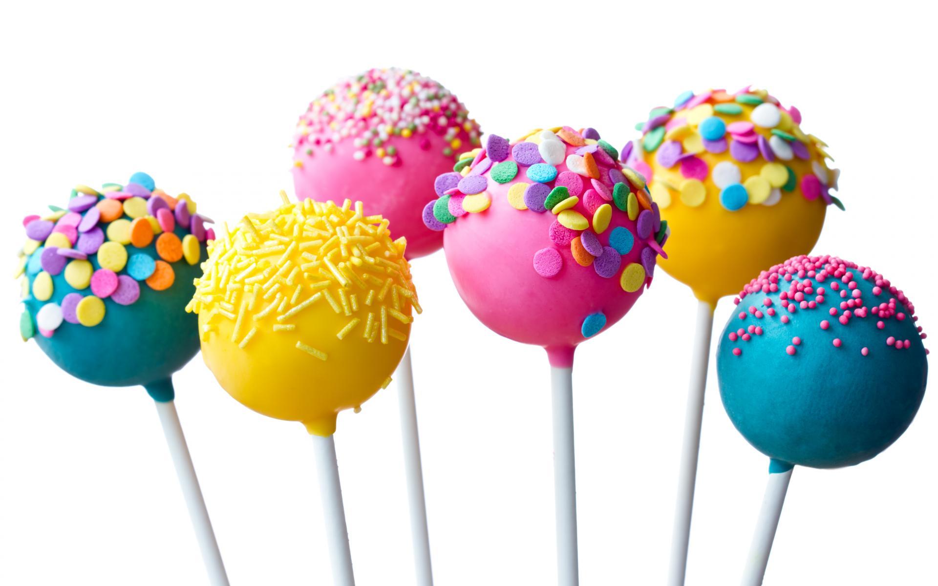 Colorful Lollipop Candies HD Wallpaper - Lollipop PNG HD