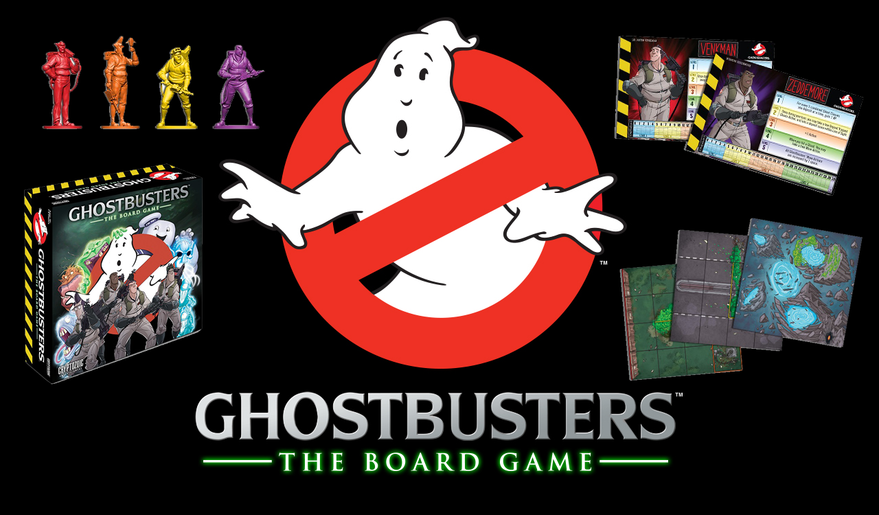 Earlier this month, we got our first look at the new Ghostbusters: The Board  Game that was funded through Kickstarter. - Look At The Board PNG