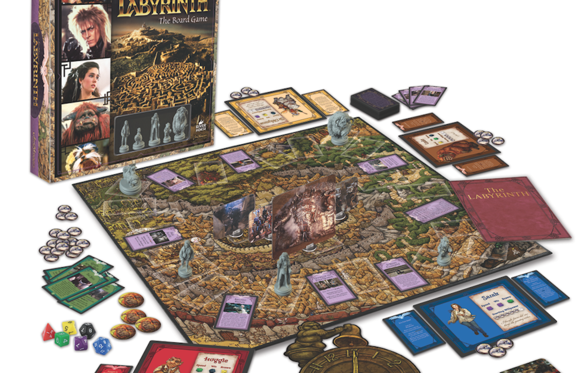The Jim Henson Company has revealed the first product images of a new board  game inspired by the cult 1986 movie, Labyrinth. - Look At The Board PNG