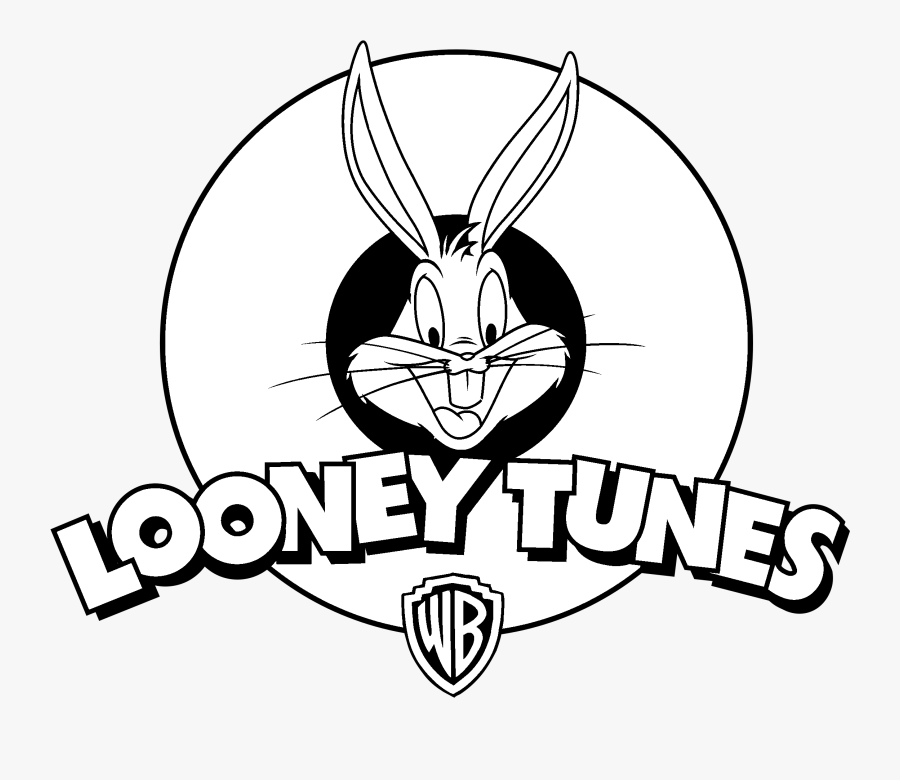 Hd Looney Tunes Logo Black And White Free Unlimited - Draw The Pluspng.com  - Looney Tunes Logo PNG