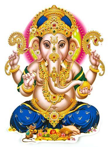 Lord Ganesh Jumbo Stickers Wholesale - Sri Ganesh PNG
