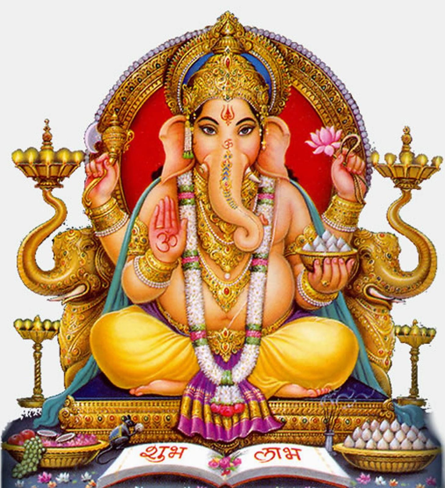 Lord Ganesh PNG - Sri Ganesh PNG