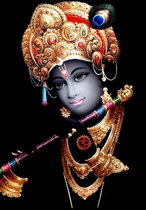 Nice Crown Of Lord Krishna