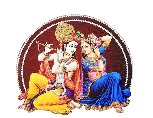 Radha Krishna PNG Transparent
